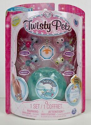 Twisty Petz 4 Pack Series 1 Lot Of 3 Panda-Kitty Panda-Puppy Kitty-Puppy