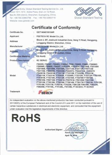 Feetech FS90R 360 Degree Continuous Rotation Servo//SG90 180 Degree Servo//Tester