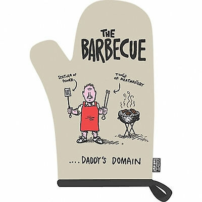 Truth About Mums And Dads Oven Mitt OFFICIAL The BBQ Funny Glove