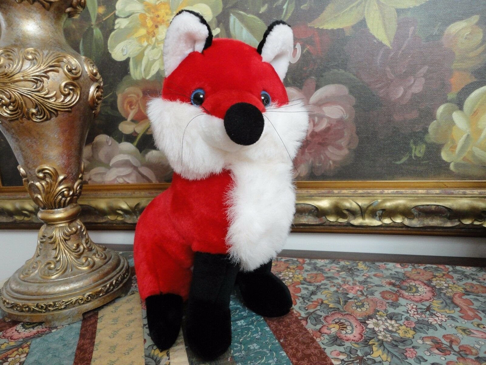 Mardi Gras FOX Stuffed Plush Nuovo Orleans Louisiana 12 inch Collectible