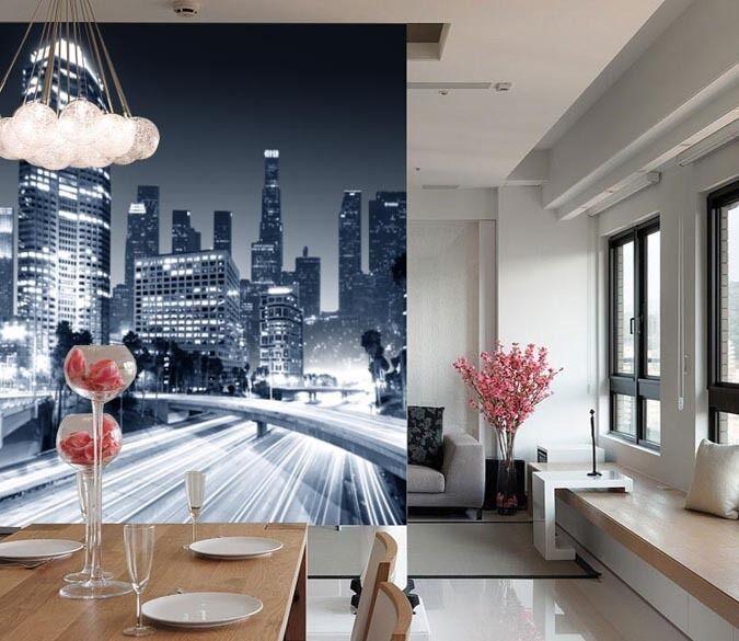 3D Die Planung der Stadt.5911 Fototapeten Wandbild Fototapete BildTapete Familie