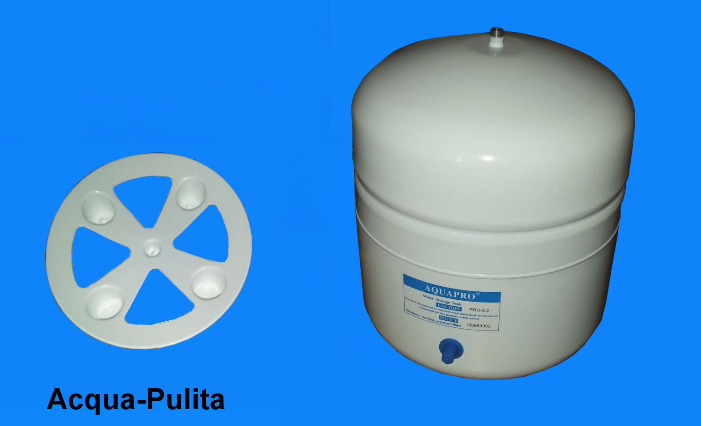 Serbatoio o Tanica di Accumulo Acqua per Depuratore ad Osmosi (12 Litri) Bianco