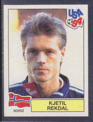 Norge USA 94 World Cup # 333 Kjetil Rekdal Green Back Panini