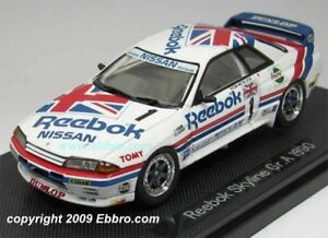Nissan Skyline R32 1990 Reebok 1 1:43 Ebbro