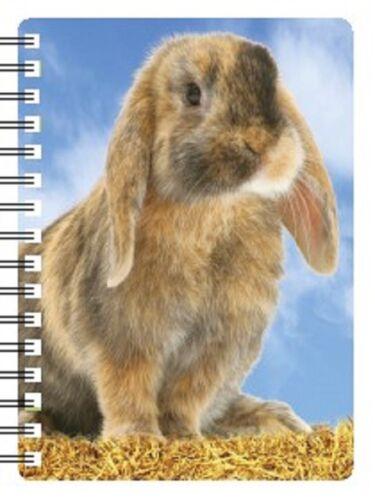 Lop eared Rabbit 3D Notebook