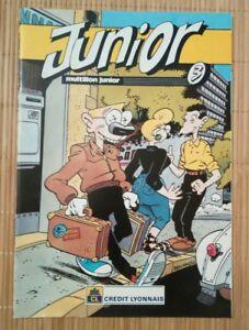Brochure-publicitaire-Junior-CL-Ben-Radis-Druillet-Forest-Simon-Tintin-Liberator