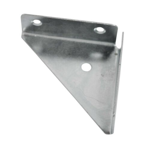 65mm Corner Bracket Zinc Plated Metal Brace Gusset Fixing /& Repair Support Plate