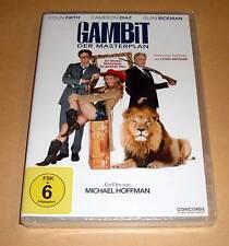 DVD Gambit der Meisterplan - Colin Firth - Cameron Diaz - Komödie - Neu OVP