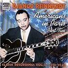 Django Reinhardt - Americans in Paris, Pt. 2 (Classic Recordings, Vol. 8, 2005)