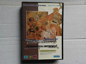 Sega-Mega-Megadrive-VTG-Juego-retrogaming-Brilla-En-La-Oscuridad-Japon-Ntsc-J