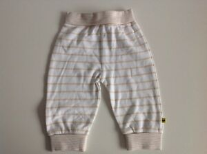 Mothercare-3-6-Months-Boys-Joggers-White-amp-Beige-NWOTs