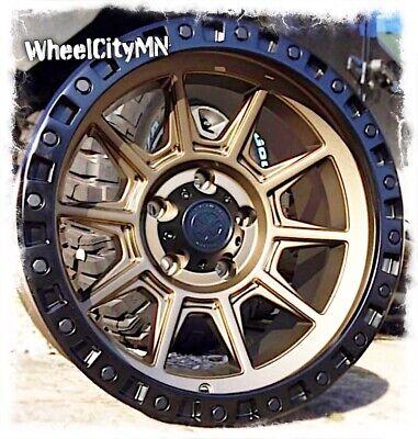 16 X8 Inch Bronze Black Ar202 American Racing Wheels Fits Toyota Tacoma 6x5 5 0 Ebay