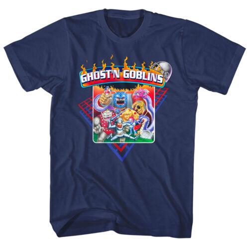 GHOSTS N GOBLINS VINTAGE NES Game Cover Homme T shirt Arthur RPG Combat Capcom