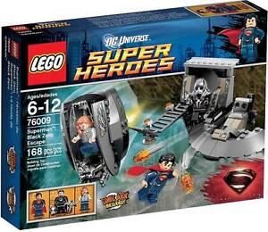 LEGO-SUPER-HEROES-2013-76009-SUPERMAN-BLACK-ZERO-ESCAPE-inc-LOIS-LANE-ZOD-BNIB