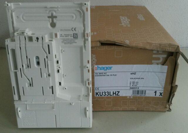 Hager eHZ-Adapter KU33LHZ,BKE-AZ,Basis,erweiterbar,Ersatz für ABB BKE-A