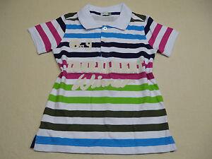H195-Shirt-Poloshirt-gestreift-Groesse-104-116-122-Polo-Neu