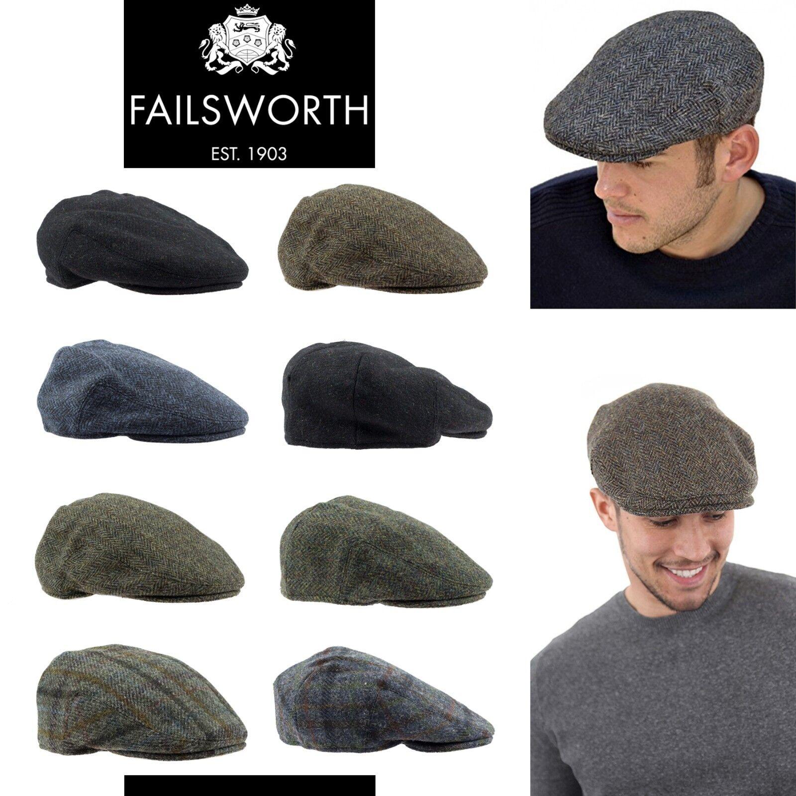 Failsworth Donegal Windsor Magee Irish Tweed Laine Flat Cap