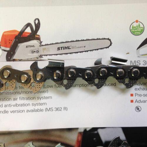 36 inch CHAINSAW BAR /& 2 chains fits HUSQVARNA Free FILES! 272 372 365 385