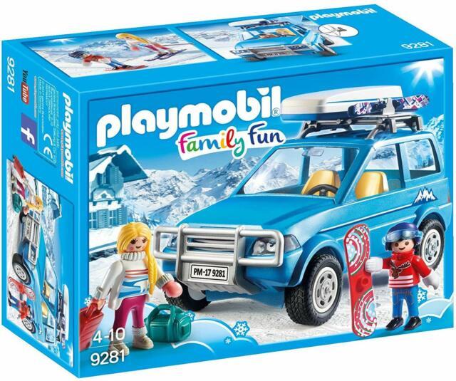 PLAYMOBIL® 9281 Auto mit Dachbox   Spielfiguren   SPIELZEUG