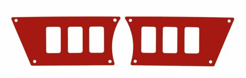 Polaris RZR XP 1000 2015 Red Dash Panel Waterproof 6 Switch
