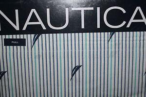 Nautica-BLUE-AUDLEY-Full-Size-Sheet-Set-Brand-New