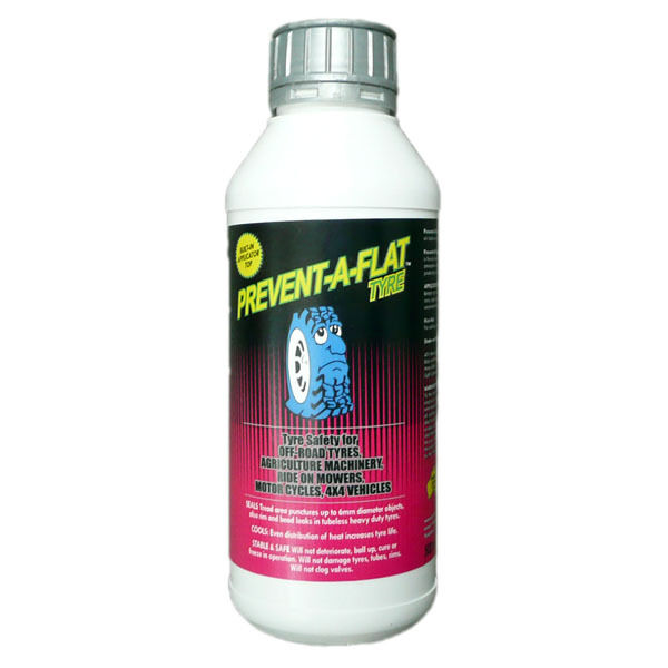 Prevent A Flat Tyre Bike  Bicycle Puncture Repair Sealant 1 Litre - No more flat  all goods are specials