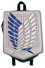 NEW Anime Attack on Titan Scout Regiment Backpack Bag NWT