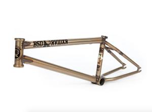 Bsd Raider V3 21.9 Trans oro David Grant Sig BMX Bicicleta Marco 21.9