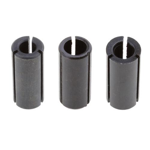 3pcs haute précision Adaptateur de pince de serrage tige CNC routeur Outil Adaptateurs Support