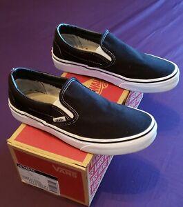Vans Slip On Old Skool Black Size 7 5 Mens 9 Womens Visit Our Ebay Store Ebay