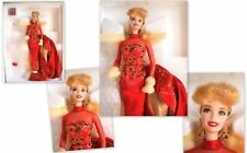 POUPEE RARE 1998 HOLIDAY GIFT PORCELAINE BARBIE COLLECTION mattel 20128