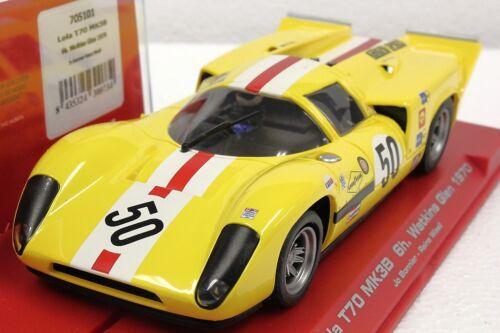 FLY 705101 LOLA T70 MK3B WATKINS GLEN 1970 NEW 1//32 SLOT CAR IN DISPLAY CASE