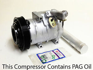 A//C Compressor Kit Fits Honda Accord 2003-2007 V6 3.0L 4 Door 10S17C Brand New