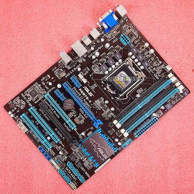 ASUS P8B75-V ATX Motherboard CPU LGA 1155 DDR3 Intel B75 DVI USB 3.0 I//O Shield