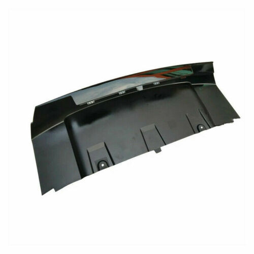 Front Bumper Cover Glossy Black Skid Plate For 2012-2015 Range Rover Evoque US