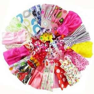 50 Items Of Barbie Doll Dresses Clothes Bundle Shoes Hangers Ebay