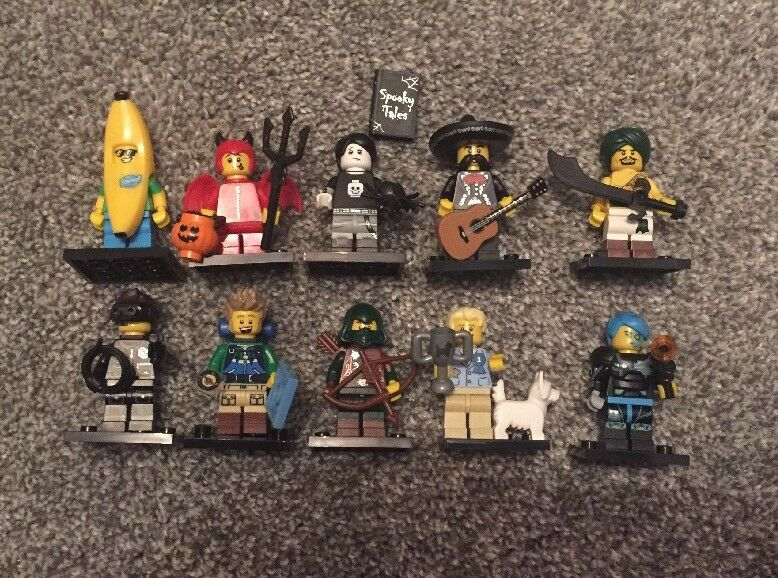 Bundle Of 10 Lego Minifigures From Series Great Condition Figure Toy