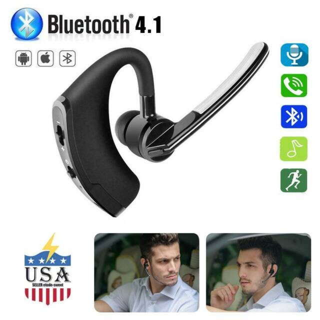 Wireless Bluetooth Headset Stereo Headphone Earphone Sport Handfree Microphone