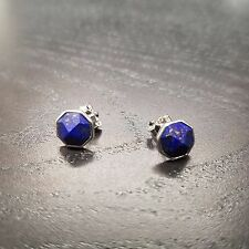 Silpada New! P3036 Cloud Nine Sterling Silver Lapis Earrings