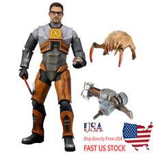 US Ship NECA Dr. Gordon Freeman Half-Life 2 Video Game 19cm PVC Flexible Figure