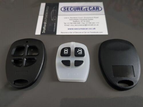 Sapo Ai606 A201 caso Clave Fob Reemplazo nuevo botón remoto Cubierta De Alarma Toad