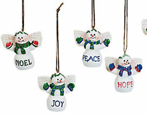 Bulk Christmas Ornaments.Details About 120 Angel Christmas Tree Ornaments Hope Faith Noel Peace Bulk Lot