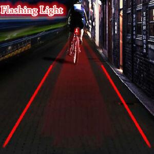 5-LED-2-Laser-Velo-De-Montagne-Lumiere-Cycle-VTT-Feu-Arriere-Eclairage-Securite