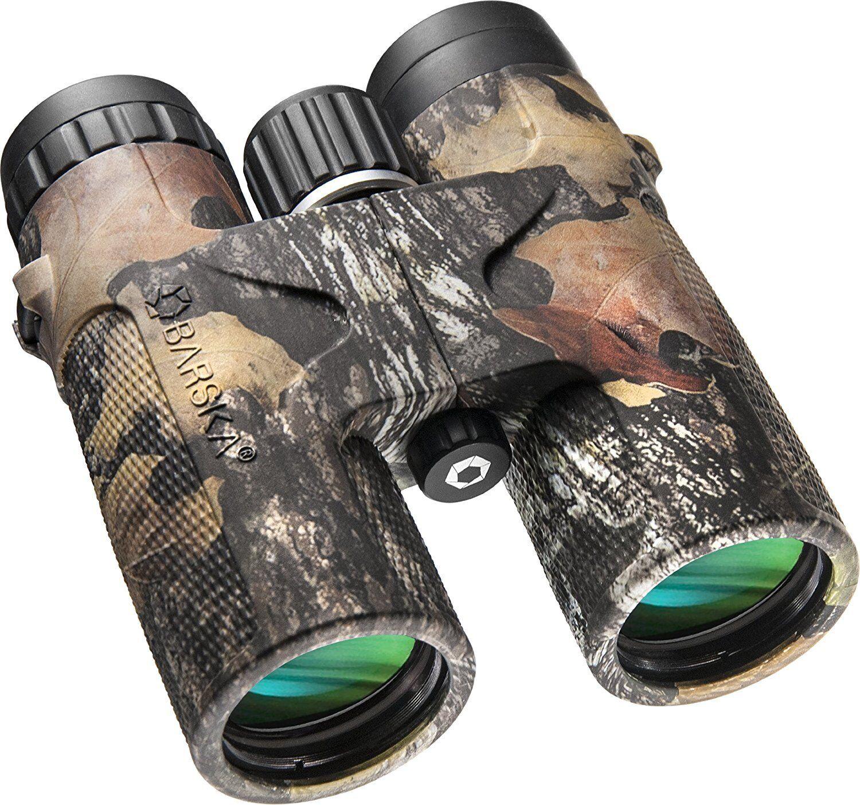 Barska Optics AB11851 10x42 WP MO negrohawk Binoculares, Lentes verdes