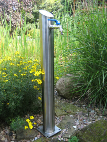 L/' eau collecte en acier inoxydable pompe à essence jardin collecte fait main