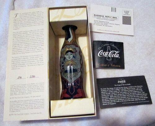 Coca-Cola Bottles Contour 'Culturally Vibrant Society' Singapore