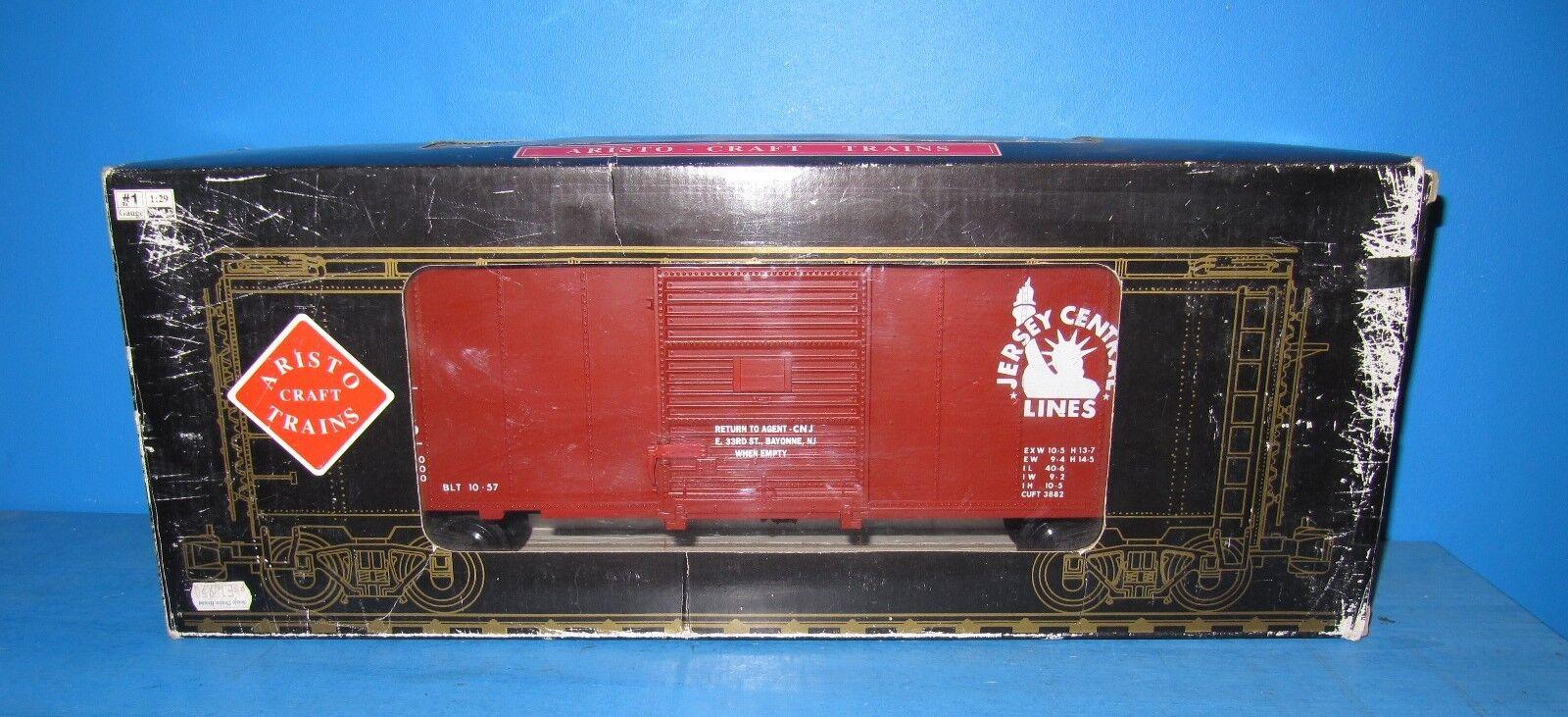 Aristo Craft Rea Traccia G BOX CAR  Jersey Central  46016 IN SCATOLA ORIGINALE MATTONCINI