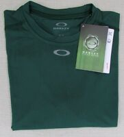 Oakley Men's Field Gear Control Athletic Performance T-shirt Green Small