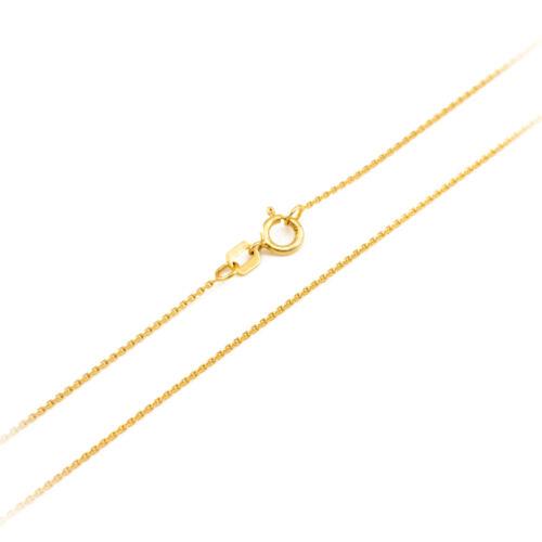 Fine 14k Yellow Gold LEO AUGUST Zodiac Sign Horoscope Pendant Necklace