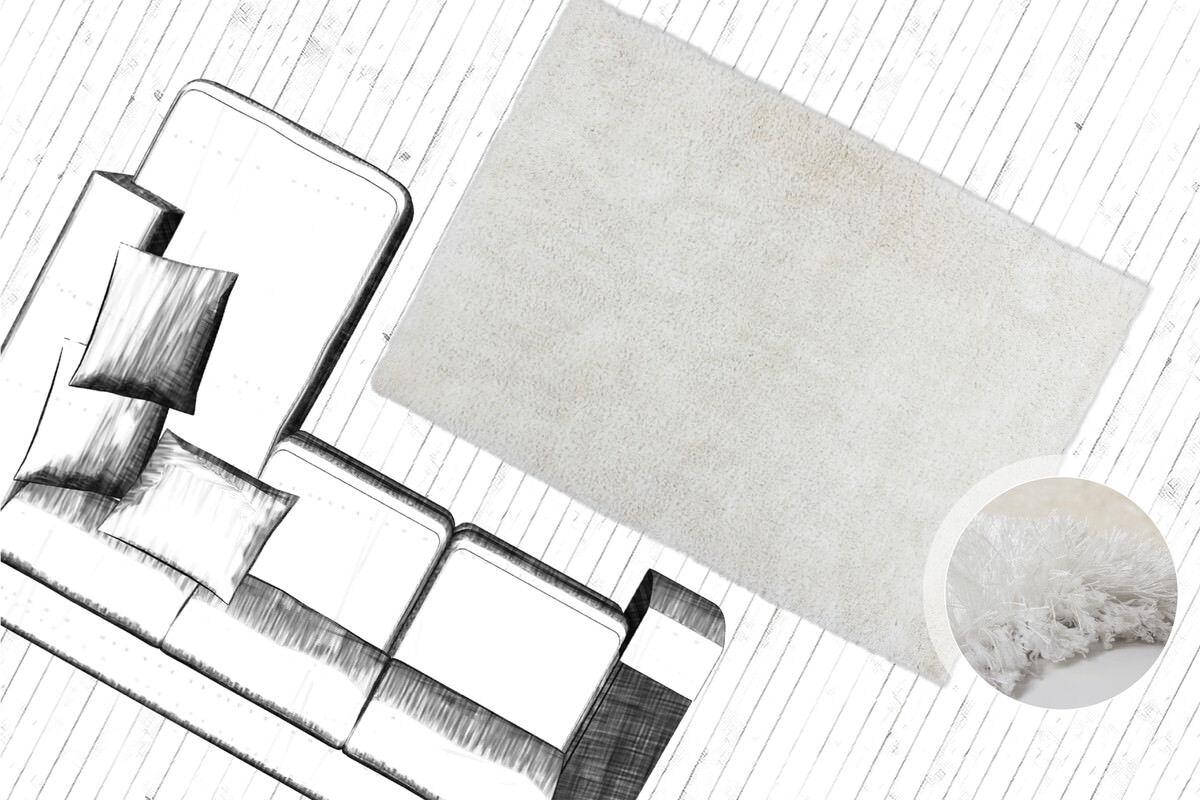 Polyester-Teppich Hecho a Mano Pelo Alto Shaggy Shaggy Alto de Largo Super Suave Monocolor 73ee30